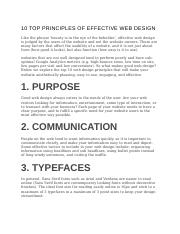 10 TOP PRINCIPLES OF EFFECTIVE WEB DESIGN.docx