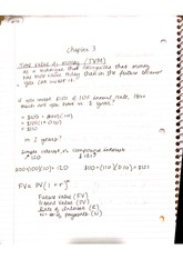 Time Value of Money Class Notes