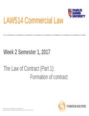 LAW514 Week 2 PPTs S1, 2017