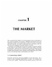 1 The Market