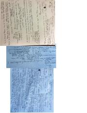 Physics Exam 3 Cheat Sheets