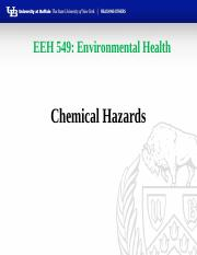 EEH549  Chemical Hazards 3-21-16