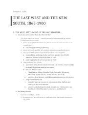 Ch. 17 The Last West and the New South.docx