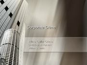 Fall 2011- Chapter 3- Corporate Crime- Parts 1 and 2