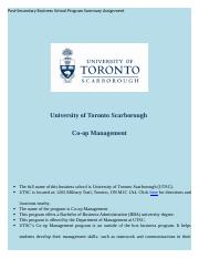 University of Toronto Scarborough.docx