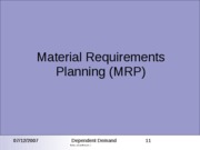 ops mgt 24_MRP_ERP_Spring09-2