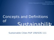 3.Sustainable Cities - An Introduction to Sustainability Concepts, Principles, and Definitions