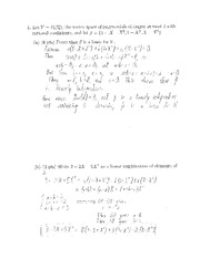 Midterm 1 - Solutions