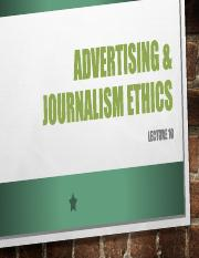 Law & Ethics Lecture 11 - Advertising & Broadcasting.pdf