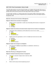 res 341 final exam with instructor Res 341 final exam res 342 final exam res 351 your instructor willattach the correct answers in the yellow column to the right when he returns the graded exam.