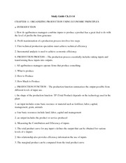 Study Guide Ch.11-14