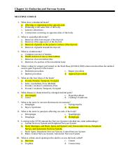 Chapter 20 - Medicine - Chapter 20 Medicine MULTIPLE CHOICE 1 A