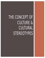 Week 3 - Cultural Stereotypes.pptx