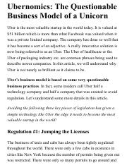 Ubernomics: The Questionable Business Model of a Unicorn.pdf
