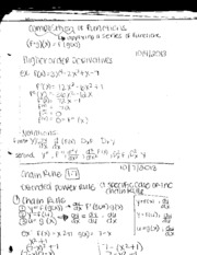 Business calc note 1-7 chain rule