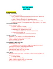 Psych 260 Exam 2 Review Sheet 9703