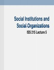 Lecture-5-Organizations