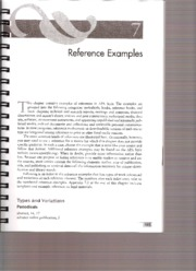 Additional Resource - APA Handbook - Reference Examples