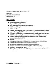 PSY223A INTRODUCTION TO PSYCHOLOG EXAM 2 MODS 9-14 (2).docx