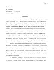 UNIT 5 ESSAY-THE ROMANS.docx