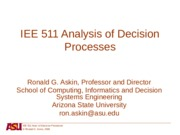 1 Intro to Decision Processes