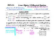 Lec3 Spans Solution Sets LinearDependence