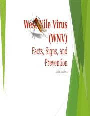 Lab 1-2 West Nile Virus ( Anna Sanders).pptx