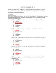REVIEW PROBLEMS SET-1 WITH ANSWERS-2