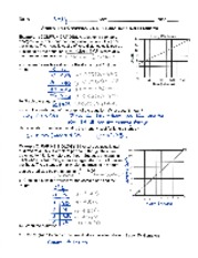 4.5 graphing linear equations wp (notes)