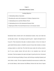 Chapter 4 Intl Monetary