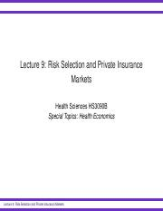 Lecture 9 - Risk Selection Markets.pdf