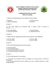 Qualifying Exam Reviewer 2017 - Basic Accounting.pdf