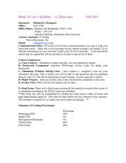 Ma141_5_syllabus_Fall11
