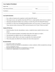 Case Analysis Worksheet Case 3.docx