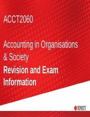Revision topic ACCT2060 sem2 2015 final   (1)