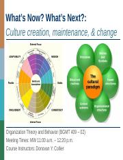 7_Organizational Culture Creation, Maintenance, and Change.pptx