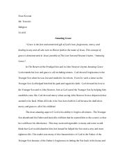 Return of the Prodigal Son Essay
