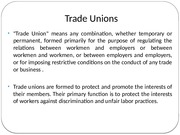 hrm project -types of unionism1