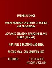 BUSINESS SCHOOL1 STRATEGIC MANG.ppt