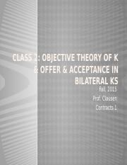 Class 2 Objective Theory of Contract.pptx