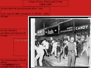 13 Urban Crisis Riots and Crime 1960-1990