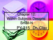 chapter 12 Clay slides