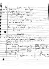 qa 252 simple linear regression notes