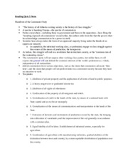 Reading Quiz 3 Notes