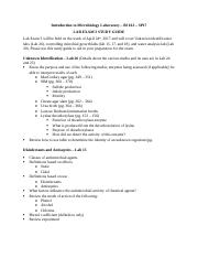 BI162 - Study guide - Lab Exam 3 - SP17 (1).docx