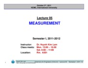 Lecture 05_Measurement