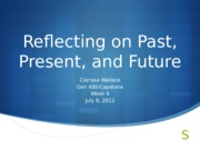 Reflecting on Past, Present, and Future PowerPoint
