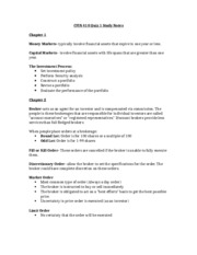 CFIN 410 Quiz 1 Study Notes copy