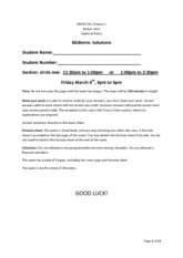 Midterm Winter 2011 Solutions