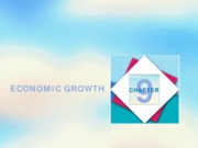 Chapter 9_Economic Growth